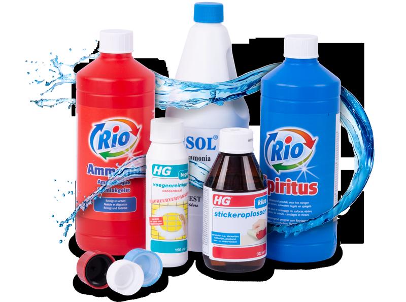 De wit Plastic chemicalien